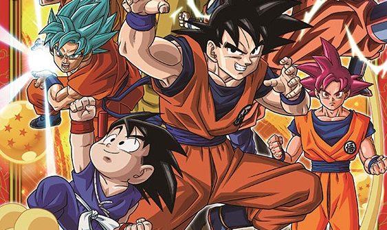 Calendario Dragon Ball Super 2017