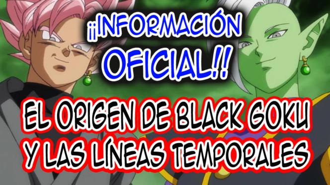 líneas temporales de la saga de Black Goku