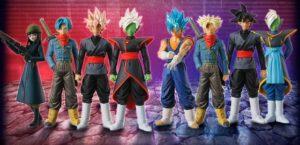 nuevas figuras de la Saga de Trunks del Futuro