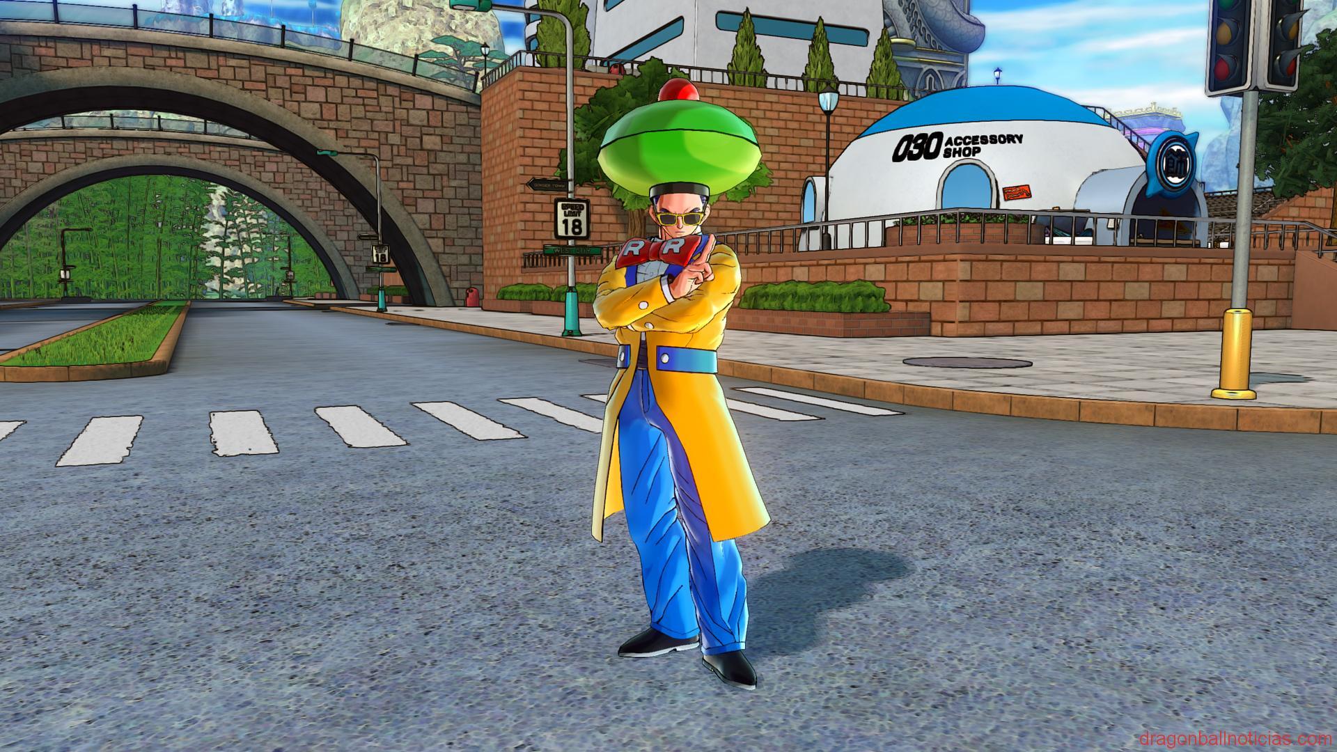 Androide #15 DLC 2 de Dragon Ball Xenoverse 2