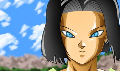 Androide 17 en Dragon Ball Super