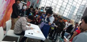 Toyotaro en la Comicon 2017 Nápoles