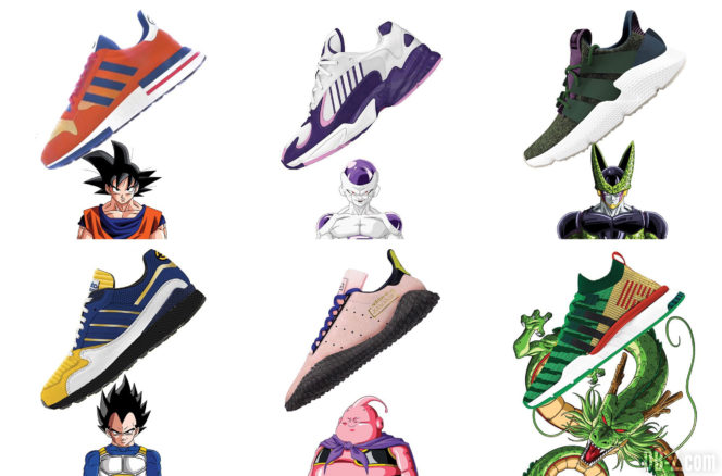 Zapatos de dragon ball