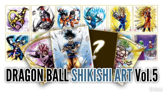 Shikishi Art Dragon Ball Vol 5