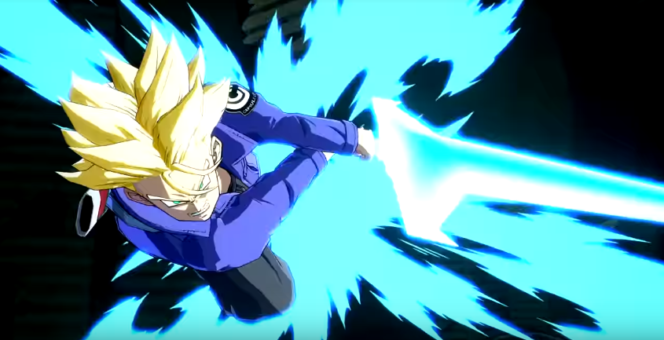 DLC de Dragon Ball FighterZ Trunks Espada