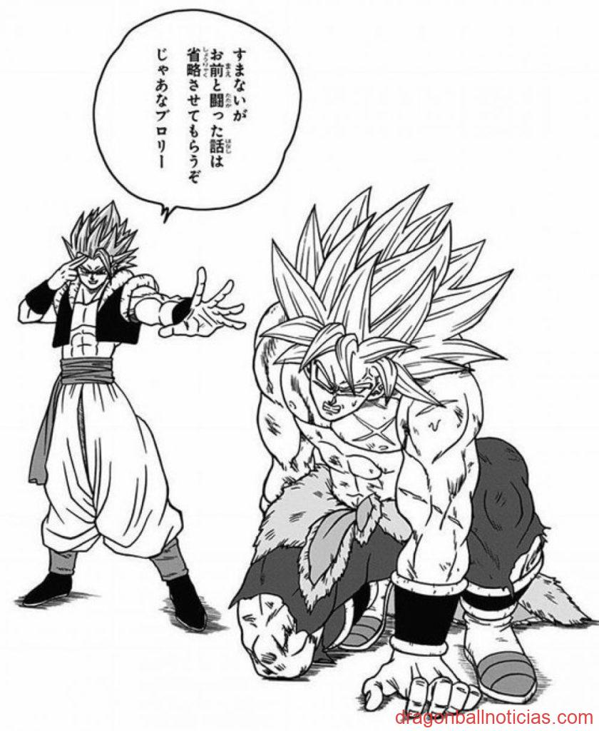 Manga Bonus Broly