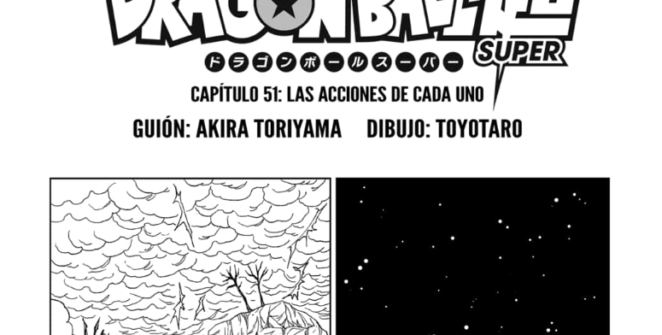 Manga 51 Dragon Ball Super